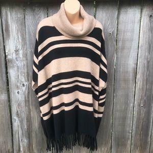 CHARTER CLUB Luxury 100% Cashmere Poncho Sweater
